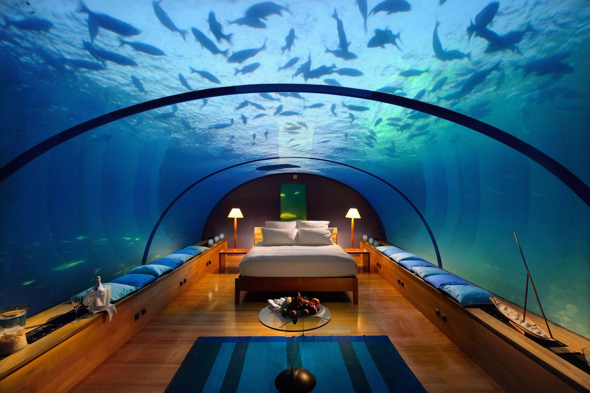 The 5* Star Conrad Rangali Island Maldives Resort