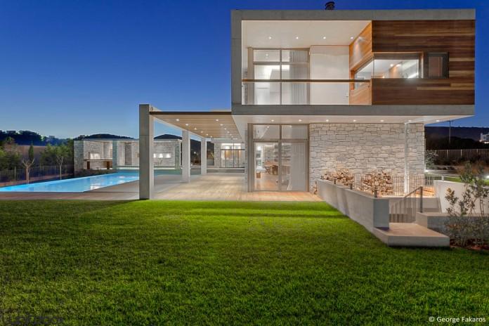 Stone House by Whitebox Architects
