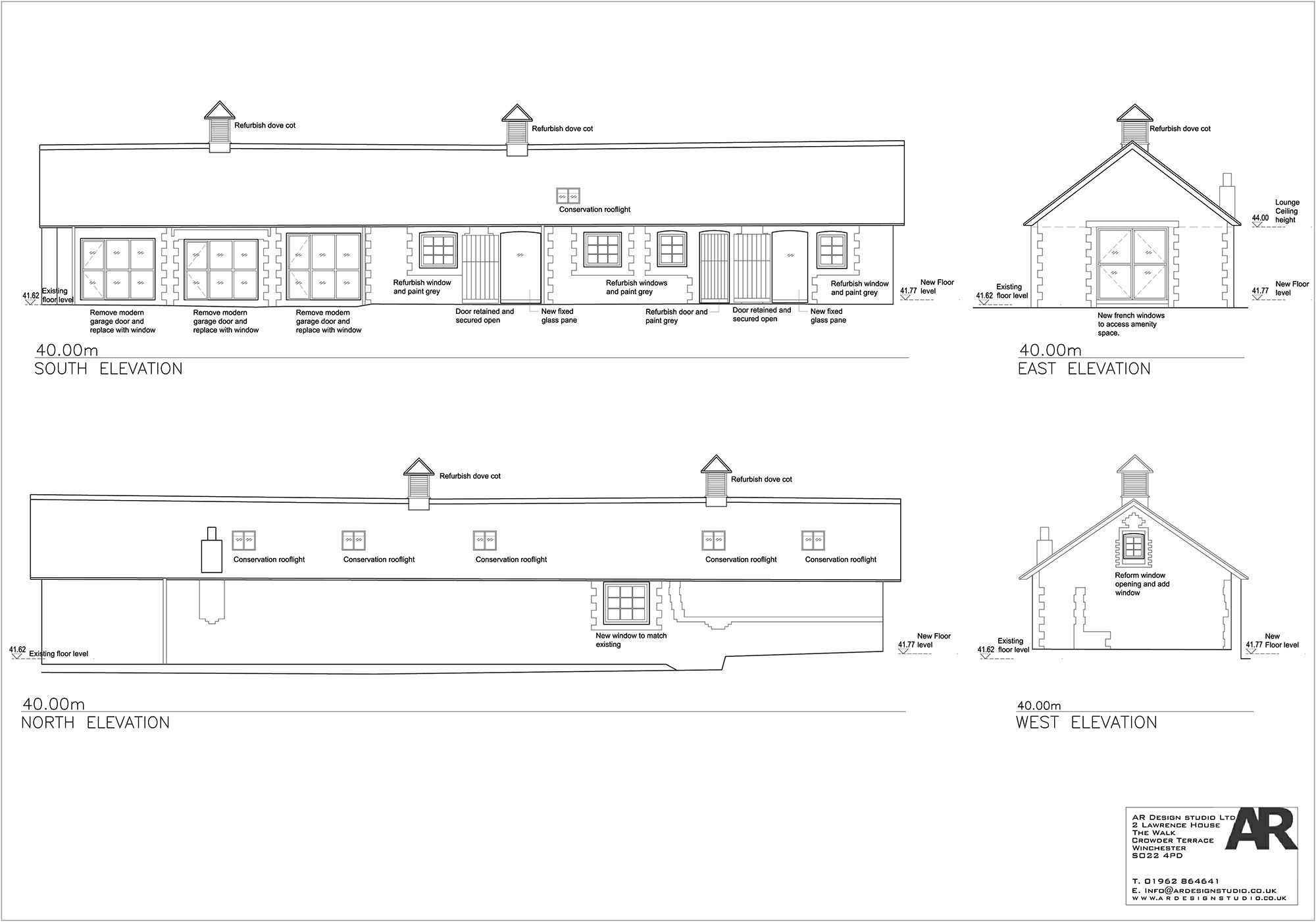 Z:PROJECTS267 The Manor House305 StableDrawingsArchivePl