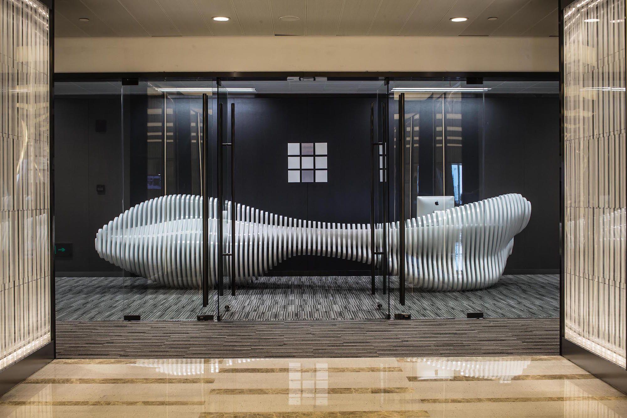 HWCD's Xian Xia Rd. Office's furniture