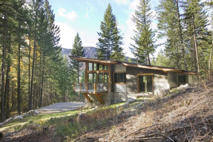Wintergreen Cabin by Balance Associates