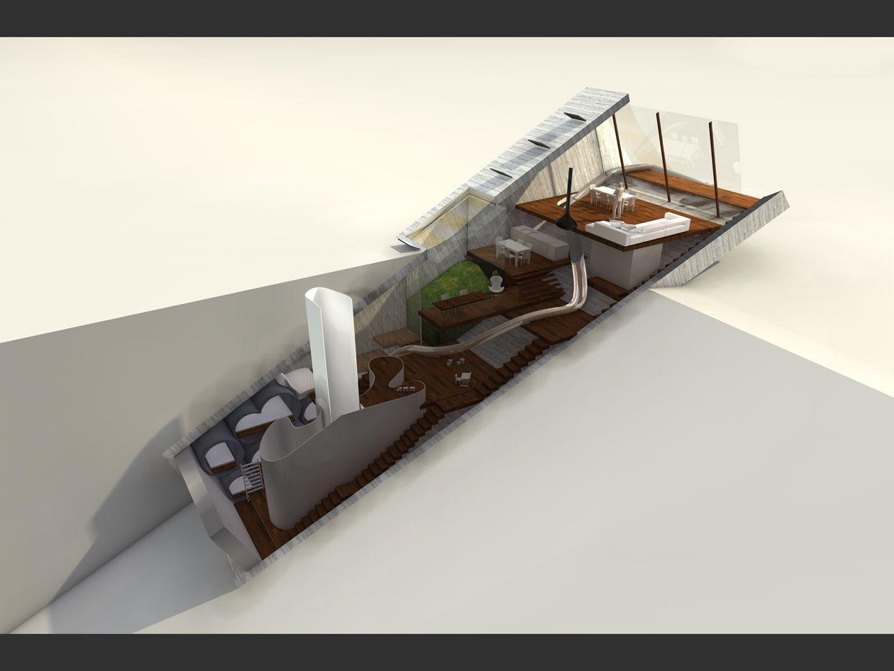 123DV Hidden House section schemes 3