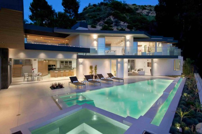 The Doheny Residence on Hollywood Hills