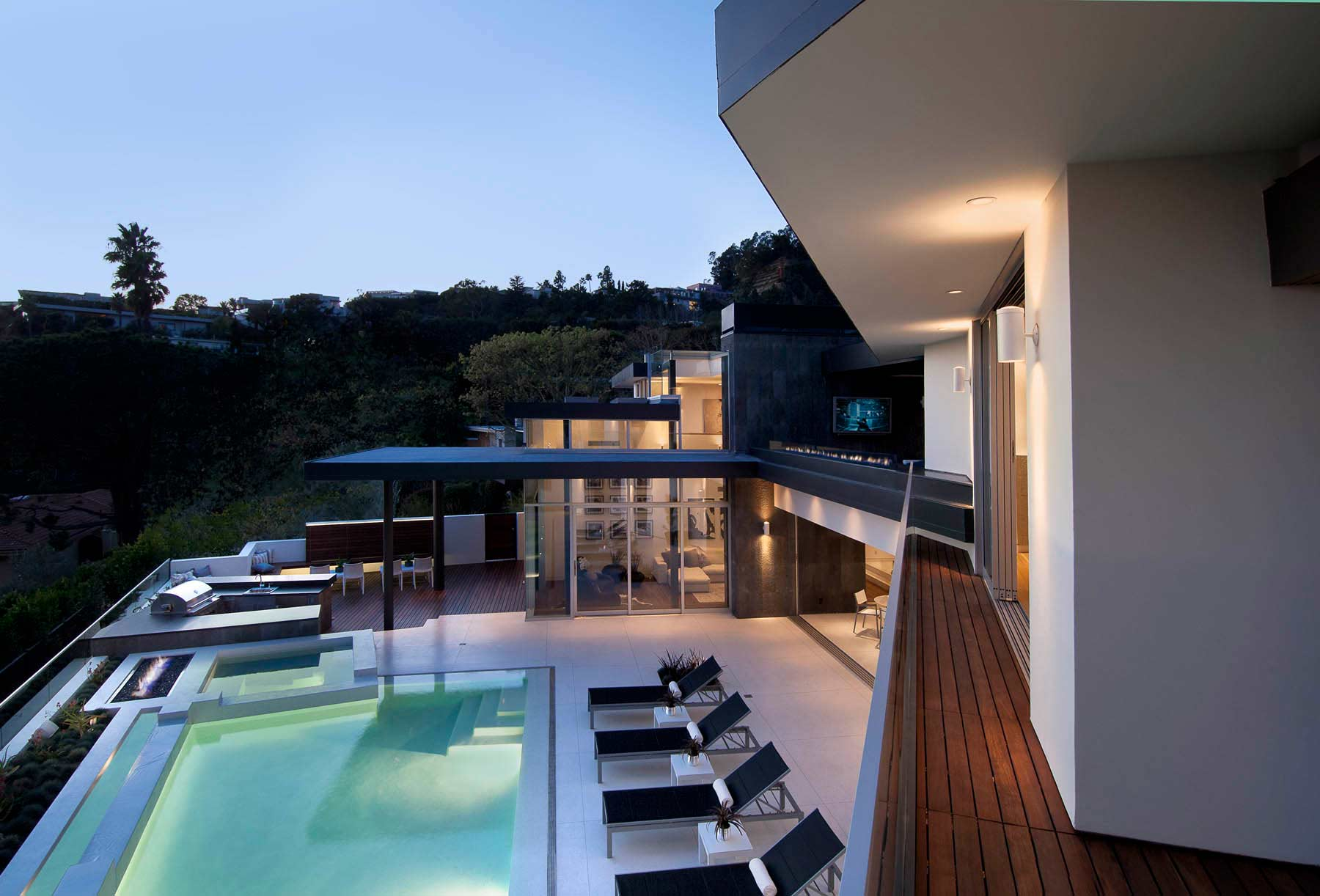 The Doheny Residence On Hollywood Hills Caandesign