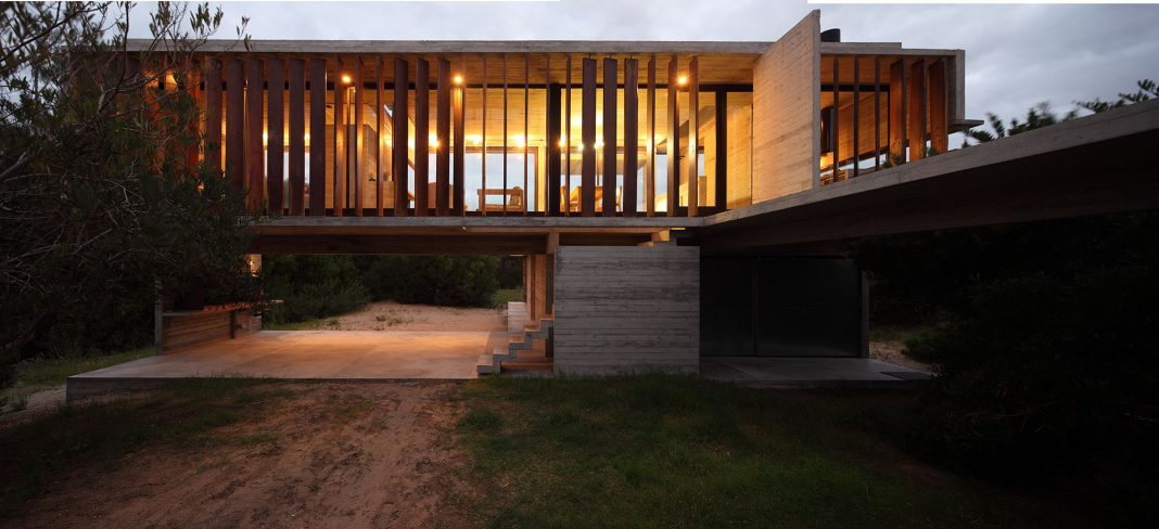 Costa Esmeralda House designed by María Victoria Besonías and Luciano Kruk