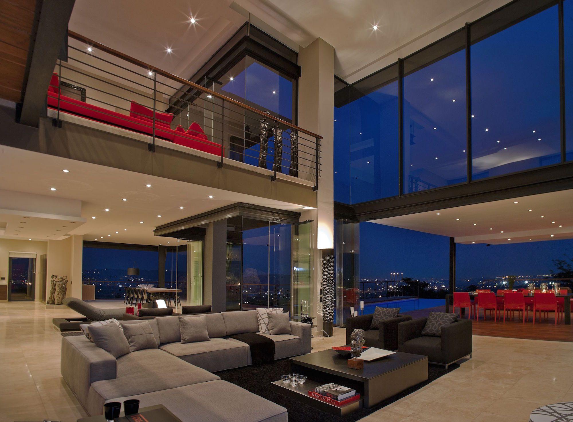 2nico Vd Meulen House Limbarda Interior Nite Pan Looking Outwards1