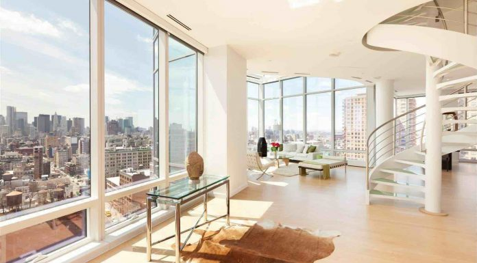 Duplex Penthouse in Astor Place Tower by Charles Gwathmey and Robert Siegel