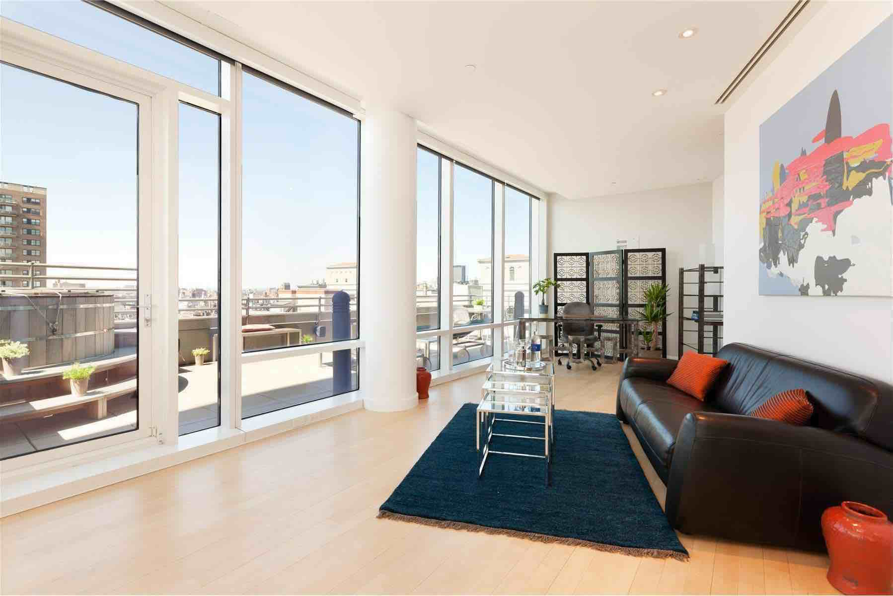 Duplex Penthouse In Astor Place Tower By Charles Gwathmey