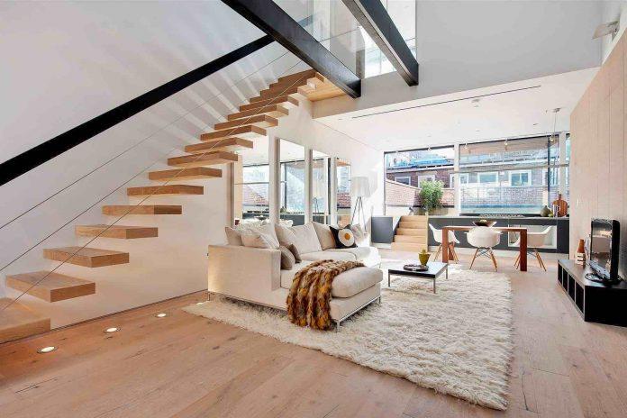 Modern Duplex in Tribeca, New York