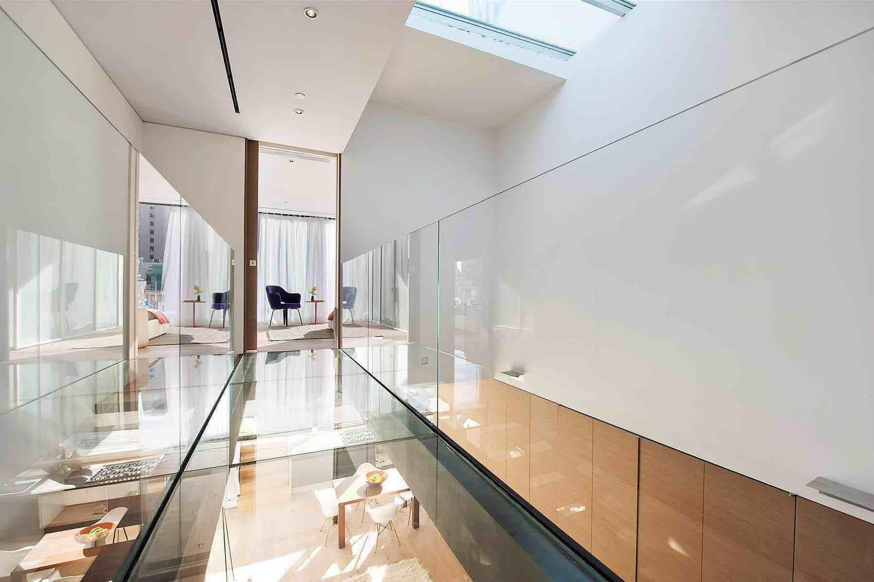Modern Duplex In Tribeca New York