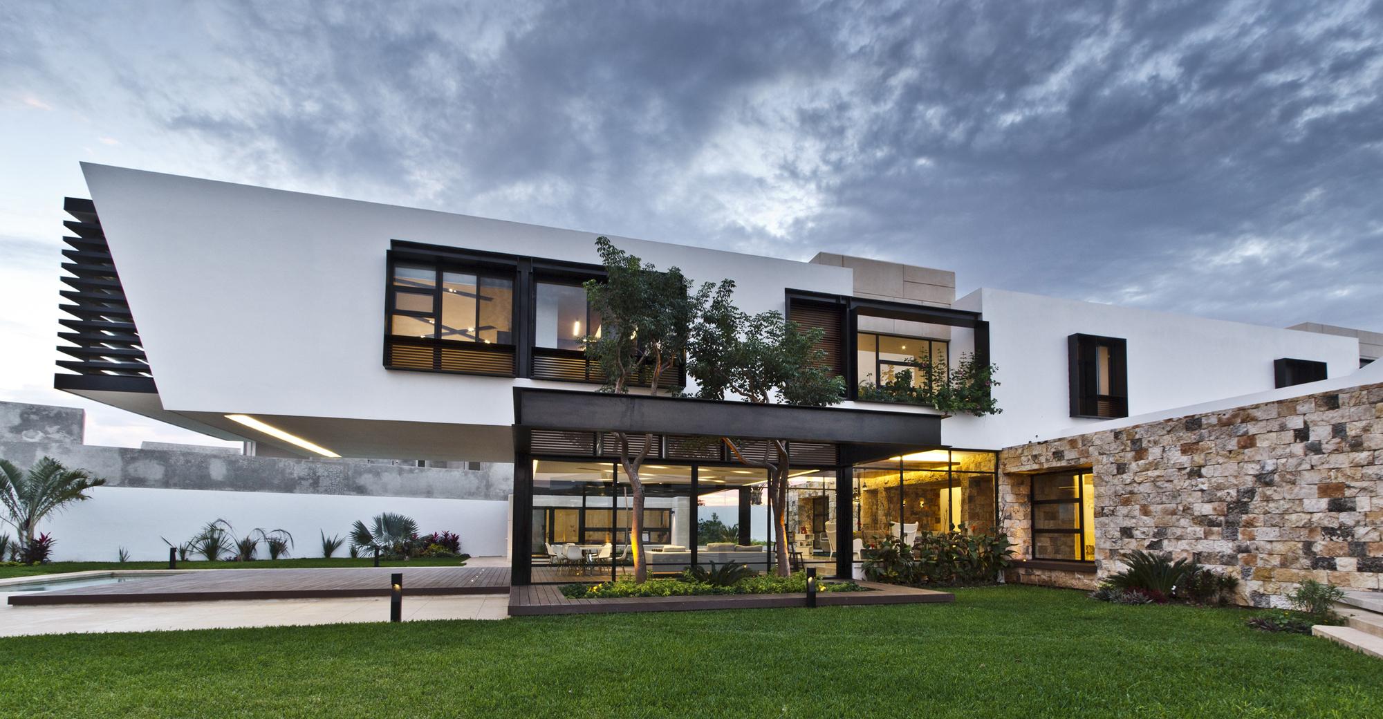 Temoz N House By Carrillo Arquitectos Y Asociados Caandesign Architecture And Home Design Blog
