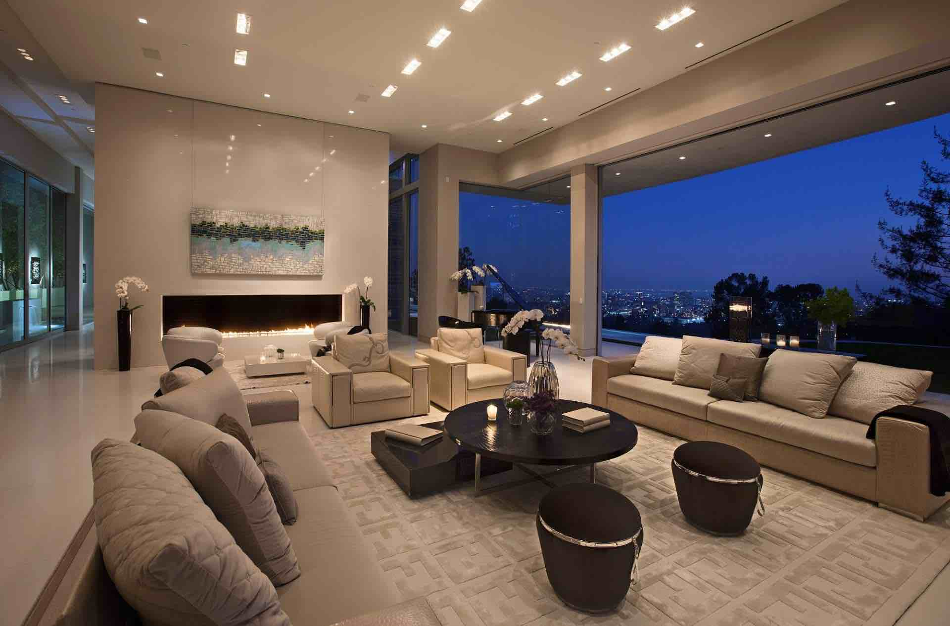 Sarbonne road residence by mcclean design caandesign for Modern home decor los angeles