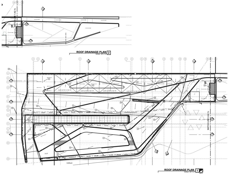 A2.1e Roof Drainage Plan