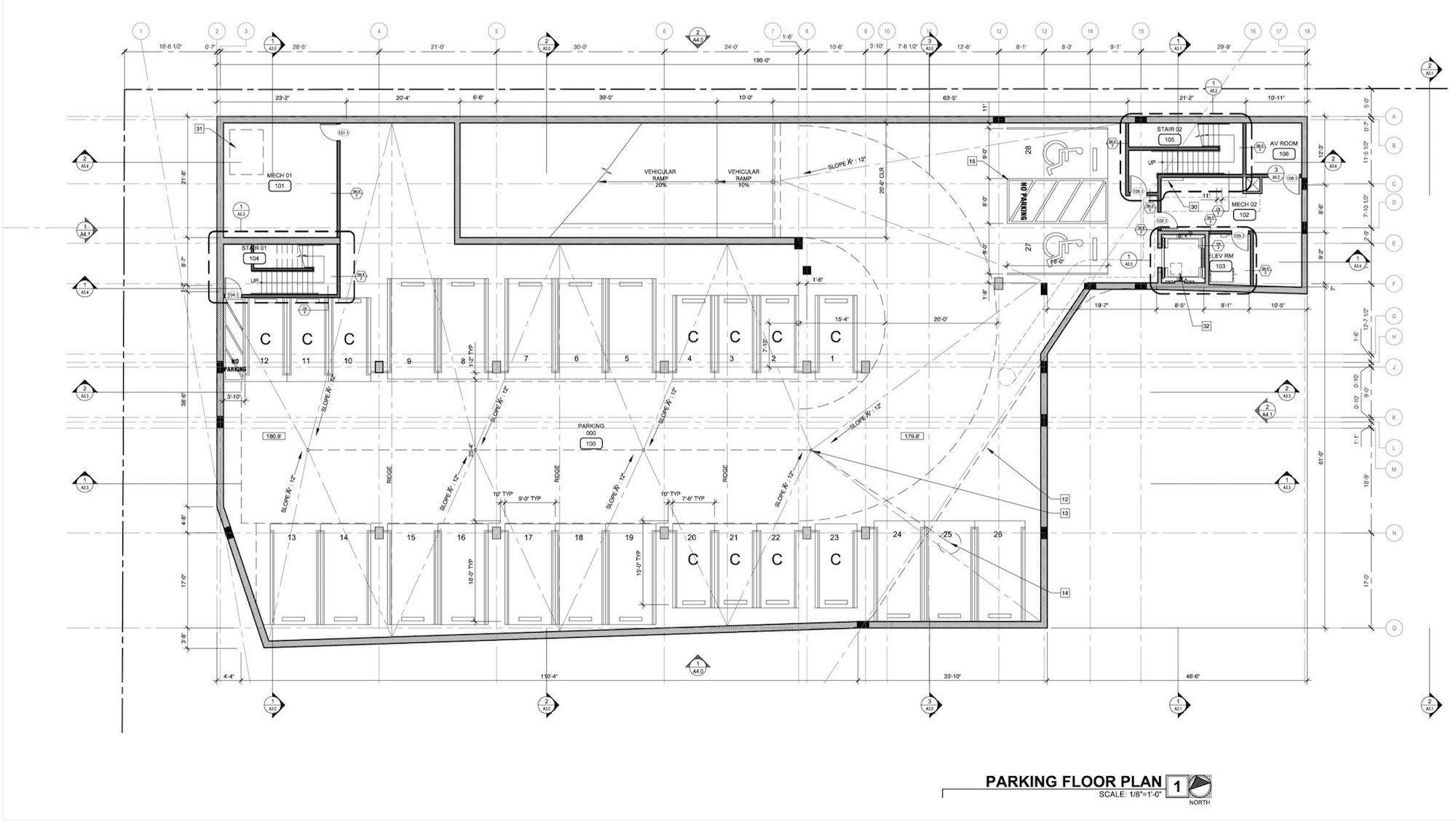 A2.4 Parking Plan