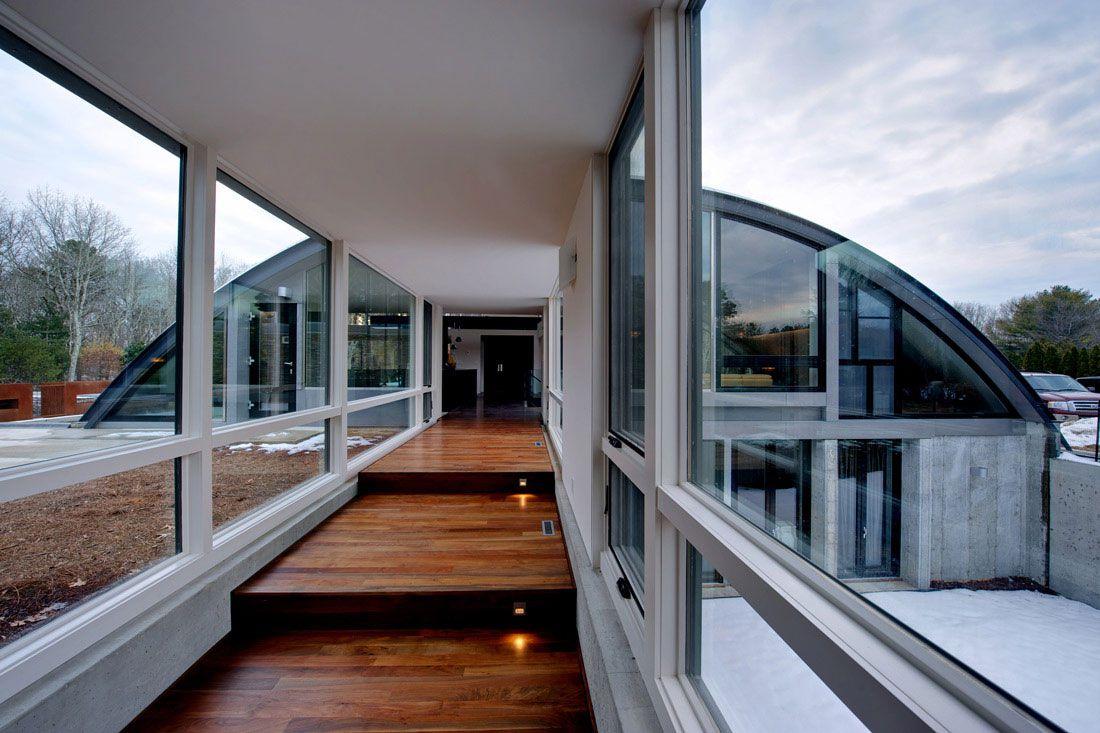 Arc House By Maziar Behrooz Architecture Caandesign
