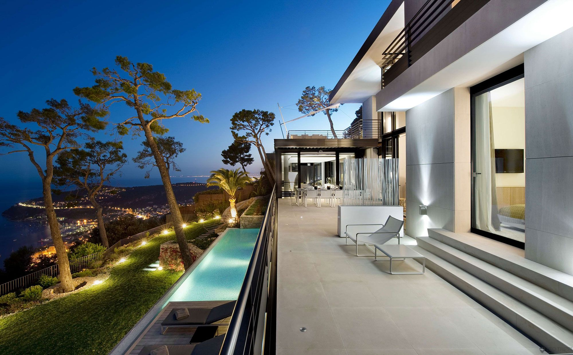 Bayview Villa in Côte d\'Azur - CAANdesign | Architecture and home ...