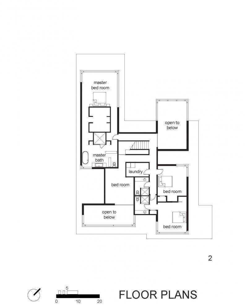 BlackWhite-Modern-Residence-17