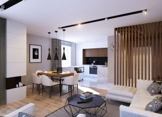 Bogatyrskiy Modern Apartment by GEOMETRIUM