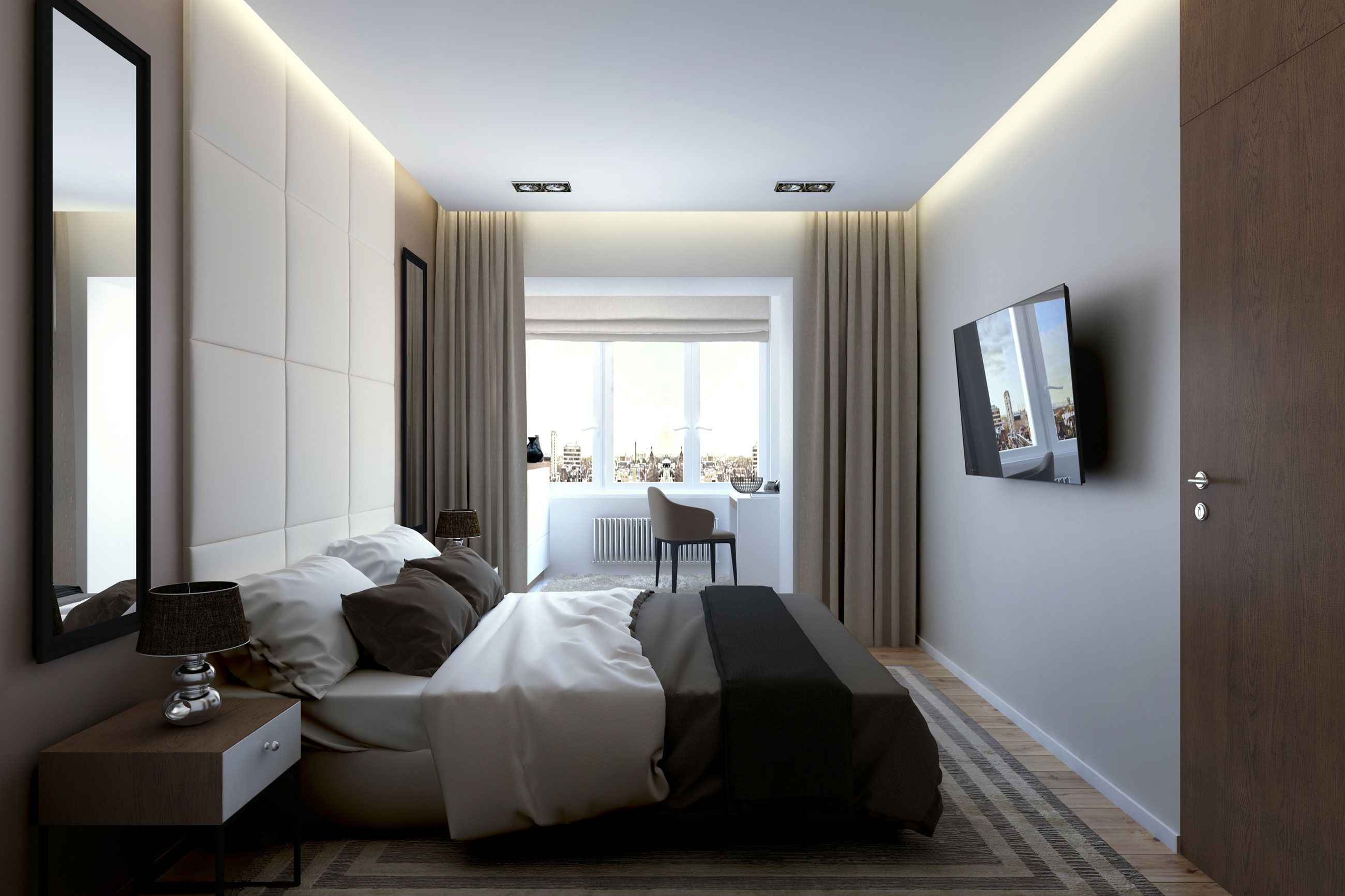 bogatyrskiy modern apartmentgeometrium - caandesign
