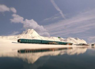 Comandante Ferraz Antarctic Rerch Station by Estudio 41