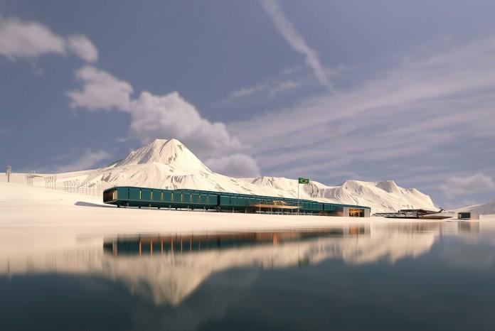 Comandante Ferraz Antarctic Rerch Station by Estudio 41