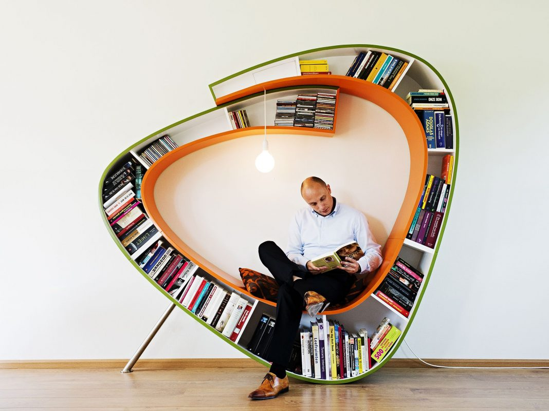 Bookworm designed by Atelier 010