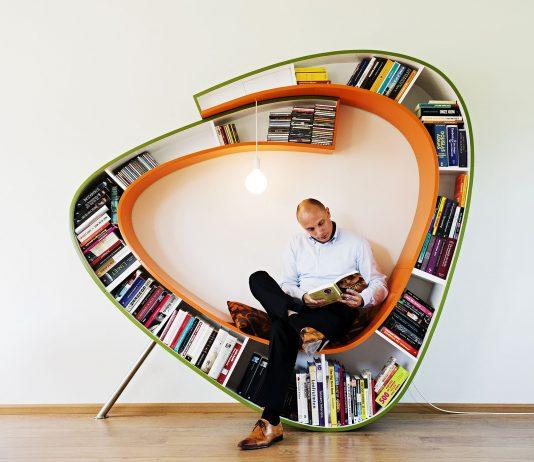 Bookworm designed by Atelier 010