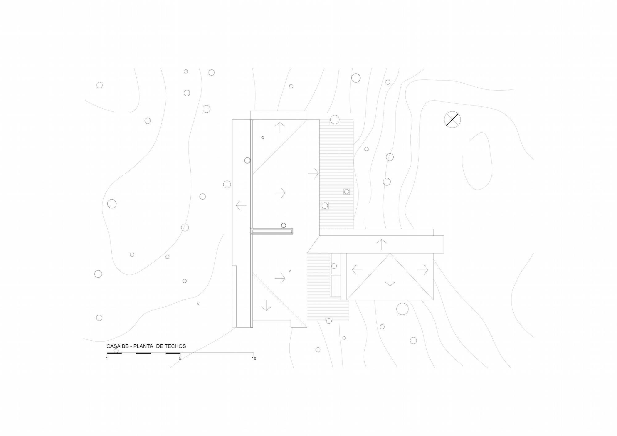 Casa BB - Planta de Techos