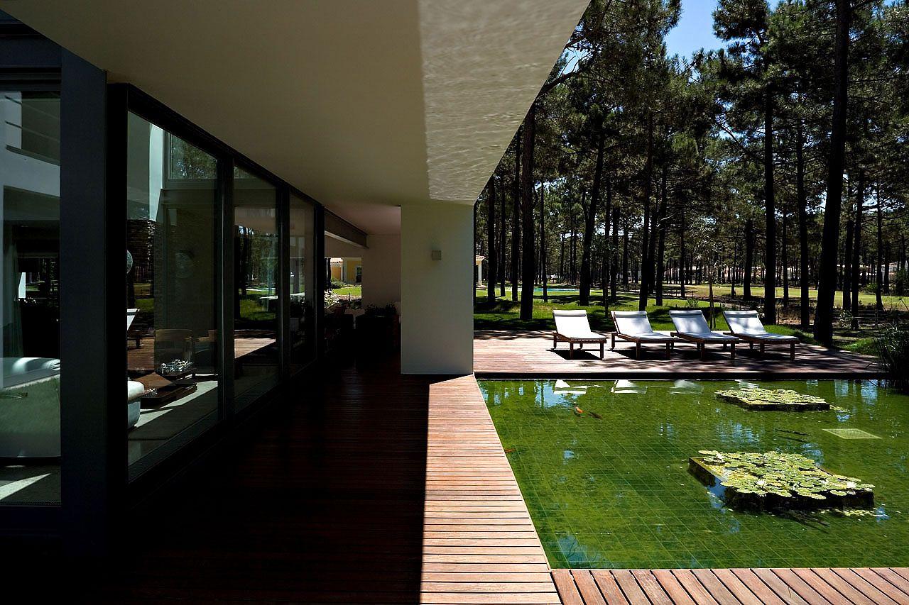 Casa do lago by frederico valsassina architects for Casa design
