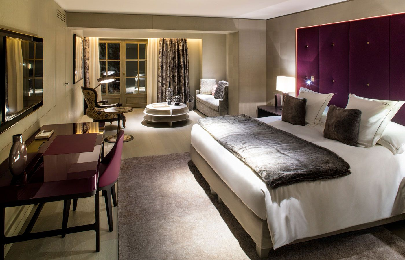the cheval blanc in courchevel caandesign architecture and home design blog. Black Bedroom Furniture Sets. Home Design Ideas