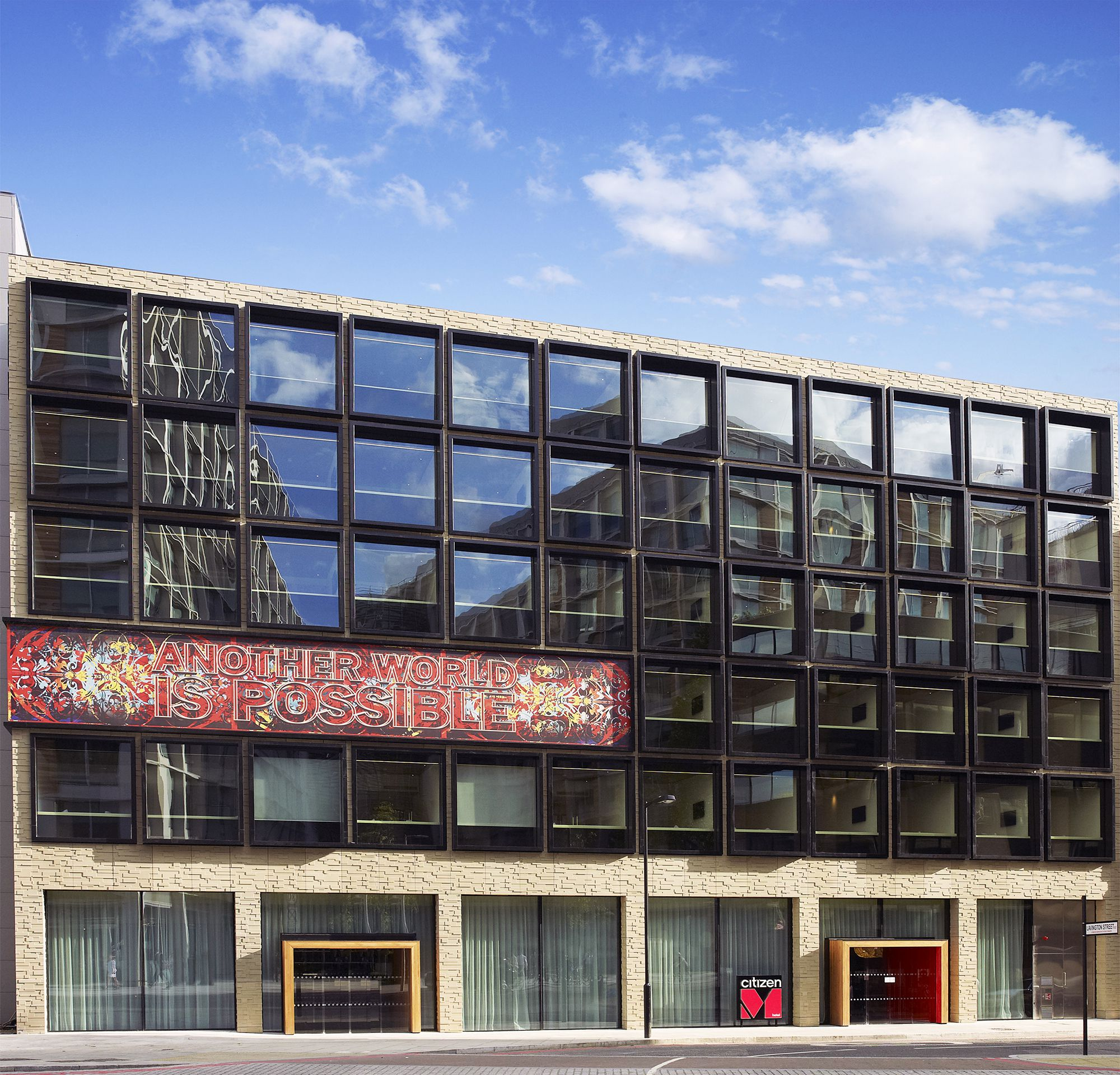 Citizenm hotel bankside london by concrete caandesign for M design hotel