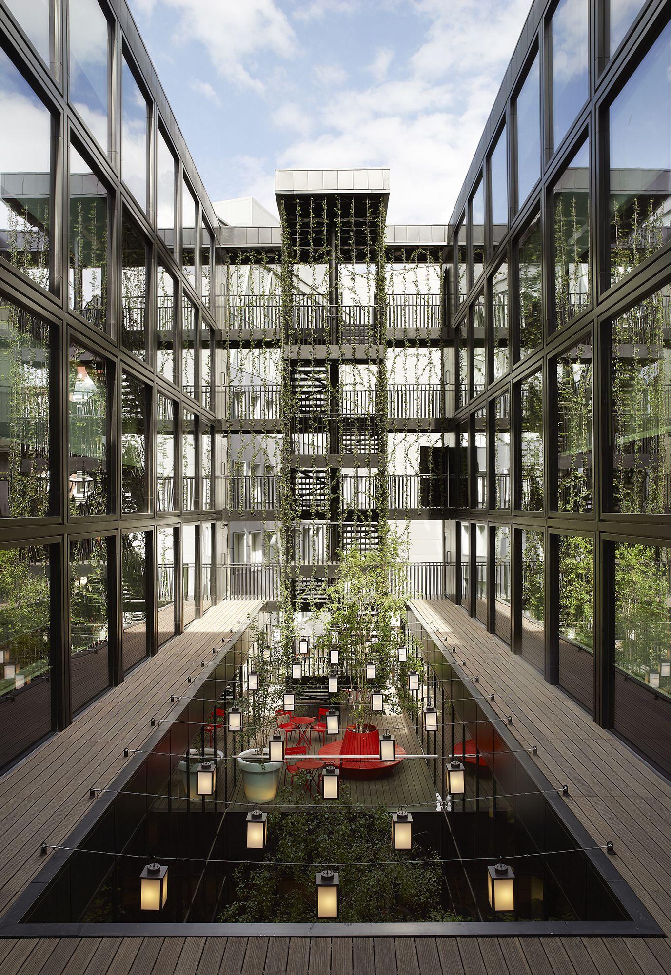 Citizenm hotel bankside london by concrete caandesign for Hotel design london