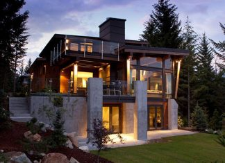 Compass Point Residence in Whistler by Kelly Deck