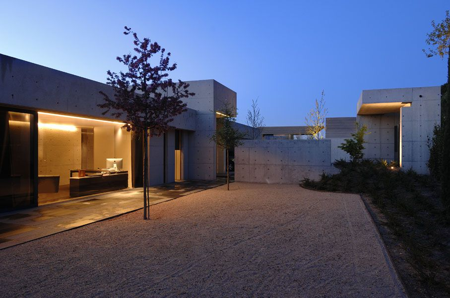 Concrete House By A Cero Caandesign Architecture And