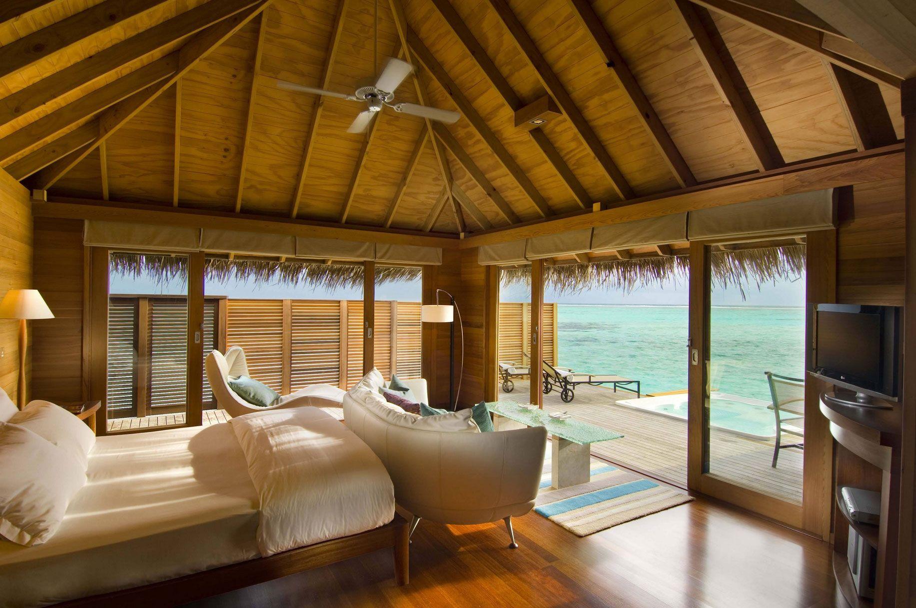 The 5 star conrad rangali island maldives resort for Hotel conrad maldives ubicacion