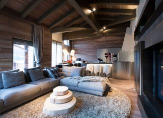 Contemporary Lenzerheide Apartment by Angelo Pozzoli