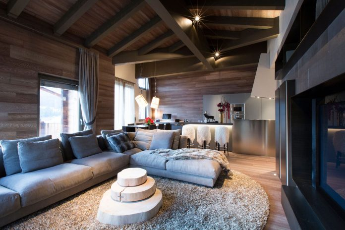 Contemporary Lenzerheide Apartment by Angelo Pozzoli
