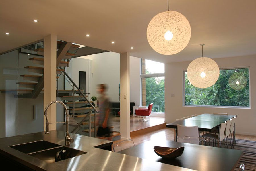 Contemporary Lighthouse Residence in Ottawa by LineBox ...