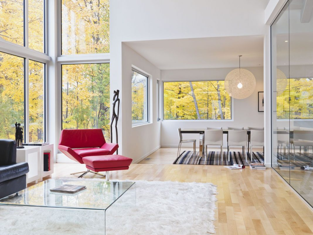 Contemporary lighthouse residence in ottawa by linebox for Modern home decor ottawa