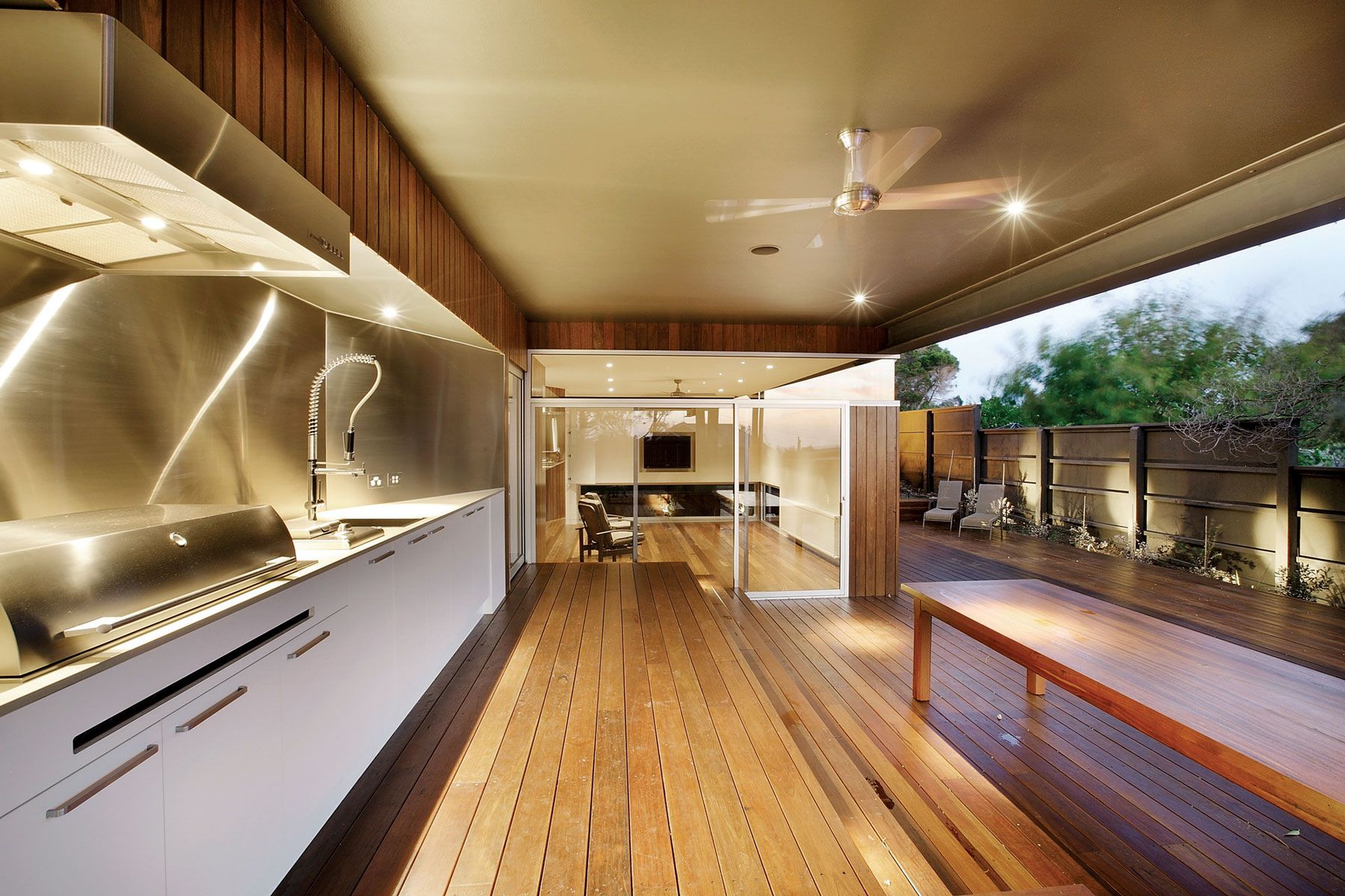 Best Outdoor Kitchens Australia Coronet Grove Residence By Maddison Architects Caandesign