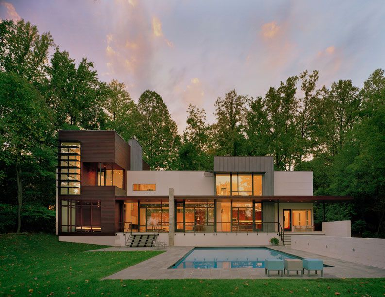 Elegant Crab Creek House By Robert Gurney Architect. Home Design Pictures Gallery