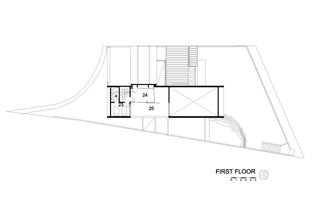 Cubo House First Floor