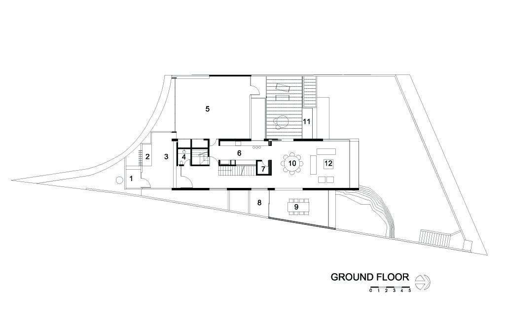 Cubo House Ground Floor