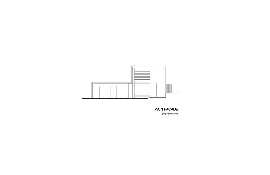 Cubo House Main Facade