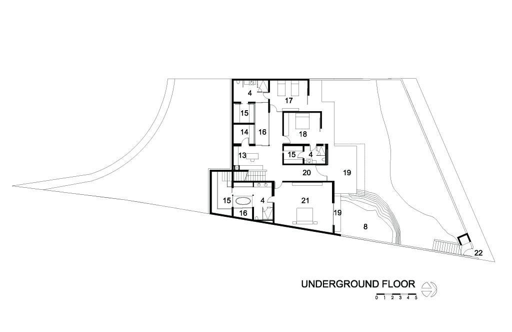 Cubo House Underground Floor