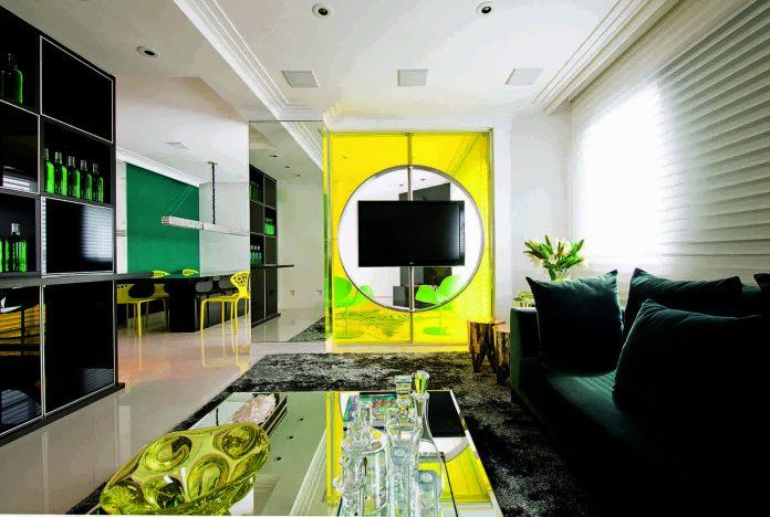 Stylish apartment by Brunete Fraccaroli