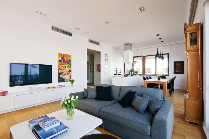 Modern penthouse by Hola Design