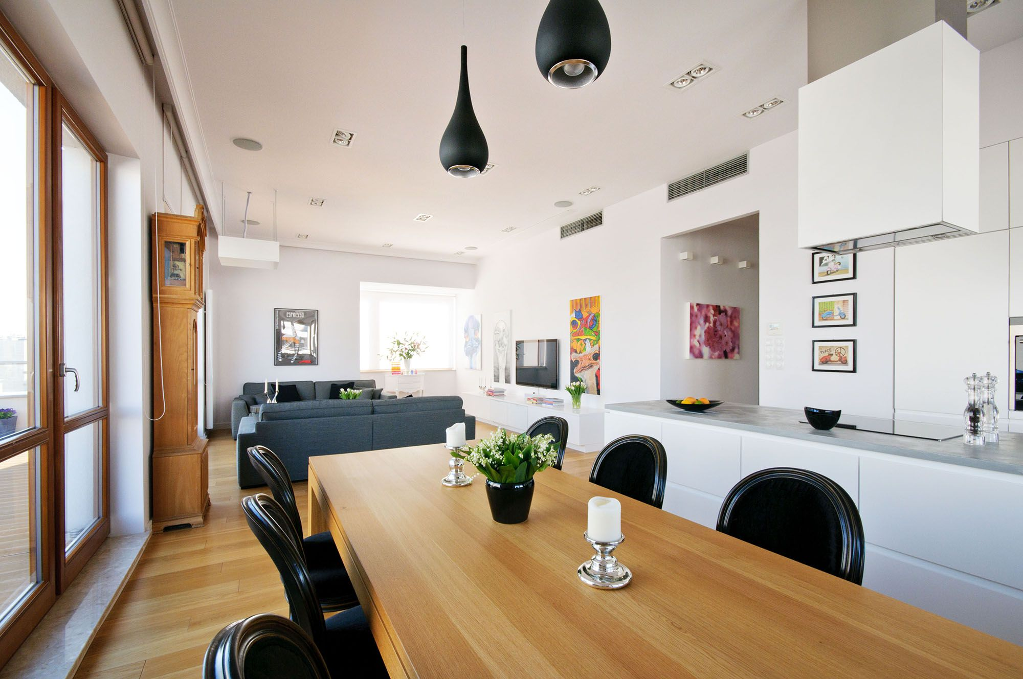 modern penthousehola design - caandesign | architecture and