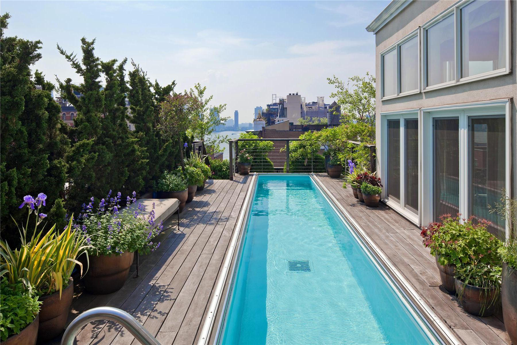 Two story penthouse with stunning roof terraces and for Garden city pool 2015