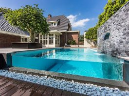 Aquatic Backyard by Centric Design Group